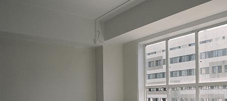 muren en plafond spuiten